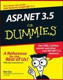 ASP. NET 3. 5 for Dummies, Ken Cox, 0470195924