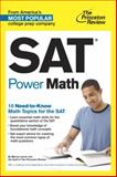 SAT Power Math, Princeton Review, 0804125929