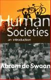 Human Societies 9780745625928