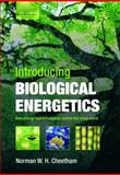 Introducing Biological Energetics : How Energy and Information Control the Living World, Cheetham, Norman W. H., 0199575932