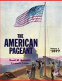 American Pageant, Volume 1, Kennedy, David M. and Cohen, Lizabeth, 1305075935