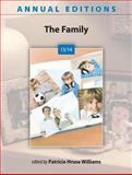 Annual Editions: the Family 13/14, Williams, Patricia, 0078135931
