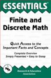 Finite and Discrete Math Essentials, Research & Education Association Editors, 0878915931