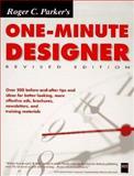 Parker's One Minute Designer, Parker, Roger C., 1558285938