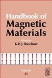 Handbook of Magnetic Materials, Buschow, K. H. J., 0444595937