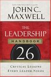 The Leadership Handbook, John C. Maxwell, 140020593X