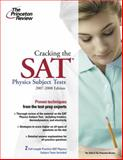 Cracking the SAT 2007-2008, Steven A. Leduc and Princeton Review Staff, 0375765948