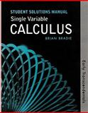 Single Variable Calculus, Rogawski, Jon, 0716795949