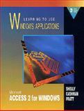 Microsoft Access 2.0 : LTU Windows Applications, Shelly, Gary B. and Cashman, Thomas J., 0877095949