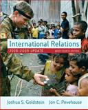 International Relations, 2008-2009, Goldstein, Joshua S. and Pevehouse, Jon C., 0205585949