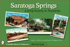 Saratoga Springs, Mary Martin and Nathaniel Wolfgang-Price, 0764325949