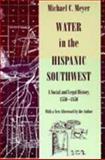 Water in the Hispanic Southwest 9780816515950