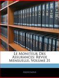 Le Moniteur des Assurances, Anonymous, 1143955951