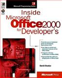 Inside Microsoft Office 2000 for Developers, Boctor, David, 0735605955