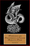 Knowledge and Indifference in English Romantic Prose, Milnes, Tim, 0521035953