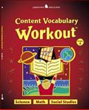 Content Vocabulary Workout : Science - Math - Social Studies, Glencoe McGraw-Hill, 0078745950