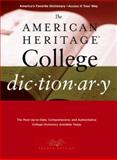 The American Heritage College Dictionary, , 0618835954
