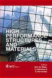 High Performance Structure and Materials, W. P. De Wilde, 1845645960