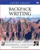 Backpack Writing, Faigley, Lester B., 032184596X