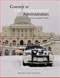 Concepts of Law Enforcement Administration, John Foust, 1621315967