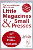 International Directory Little Magazines and Small Presses, Len Fulton, 0916685969