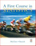 A First Course in Statistics, McClave and Sincich, Terry L., 0130655961
