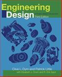 Engineering Design : A Project Based Introduction, Dym, Clive L. and Little, Patrick, 0470225963