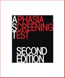 Aphasia Screening Test, Whurr, Renata, 1897635974