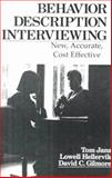 Behavior Description Interviewing