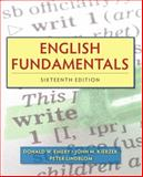 English Fundamentals, Emery, Donald W. and Kierzek, John M., 0205825974
