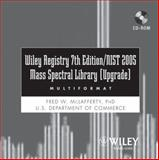 Wiley Registry of Mass Spectral Data 7th Edition with NIST 2005 Spectral Data (Upgrade), McLafferty, Fred W., 0471755974