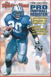 Pro Football Register 1998, Sporting News, 0892045973
