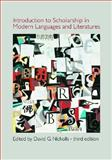 Introduction to Scholarship in Modern Languages and Literatures, Nicholls, David, 0873525973