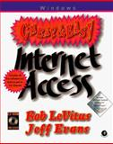 Cheap and Easy Internet Access, Bob LeVitus and Jeff Evans, 0124455972