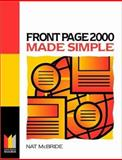 FrontPage 2000 Made Simple, McBride, Nat, 0750645989
