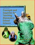 Concepts and Inquiries for Teaching Elementary School Science, Peters, Joseph M. and Stout, David L., 0131715984