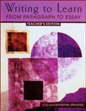 Writing to Learn : From Paragraph to Essay, Spaventa, Louis J. and Spaventa, Marilynn, 0072395982