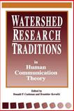 Watershed Research Traditions in Human Communication Theory, , 0791425983