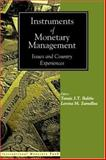 Instruments of Monetary Management : Issues and Country Experiences, , 1557755981