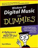 Windows XP Digital Music for Dummies, Ryan C. Williams, 0764575996