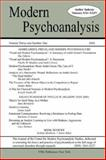 Modern Psychoanalysis, Volume 31, Number 1, Center for Modern Psychoanalytic Studies, 0976435993