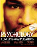 MyPsychLab : Psychology: Concepts and Applications, Morris, Charles, 0132325993