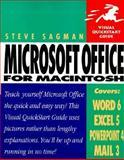 Microsoft Office for Macintosh, Sagman, Stephen W., 0201485990