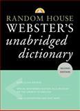 Random House Webster's Unabridged Dictionary, RH Disney Staff, 0375425993