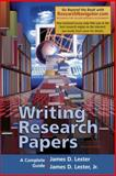Writing Research Papers, Research Navigator Edition, Lester, James D., 0321356004
