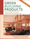 Green Building Products, Alex Wilson, Mark Piepkorn, 0865716005