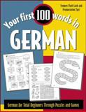 German : German for Total Beginners Through Puzzles and Games, Wightwick, Jane, 0071396004