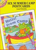 Six Summer Camp Postcards, Anna Pomaska, 0486266001