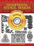 Traditional Stencil Designs, Dover Publications Inc. Staff, 0486996018
