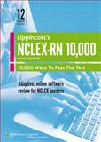 NCLEX-RN 10,000 : 10,000 Ways to Pass the Test, Lippincott Williams & Wilkins Staff, 1451116012